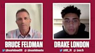 USC's Drake London catches up with Bruce Feldman to chat Trojans football