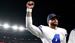 Calf strain limits Cowboys' Prescott as Vikings game looms