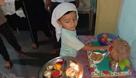 How a 3-yr-old boy in Maharashtra made his Muslim parents celebrate Ganpati festival at home