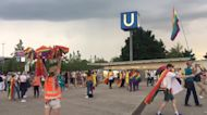 Soccer Fans Wave Pride Flags After UEFA Refuses to Illuminate Munich Stadium With Rainbow Colors