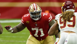 49ers inactives: Trent Williams officially ruled out, rookie OL Aaron Banks active