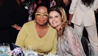 Maria Shriver and Oprah Winfrey talk about their 'long, simple' friendship
