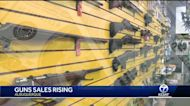 Gun sales surge after election day