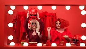 Drag queens will make Super Bowl history in a hummus commercial