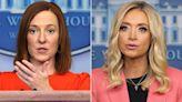 Kayleigh McEnany Talks White House Handoff to Jen Psaki, Who Reacts to McEnany's New Fox News Job