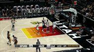 Game Recap: Jazz Blue 78, Spurs 54