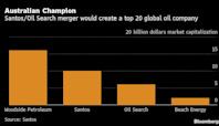 Oil Search, Santos to Merge Into $16 Billion LNG Powerhouse