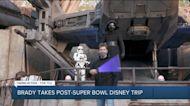 Tom Brady takes post-Super Bowl trip to Disney World, smack-talks Kylo Ren