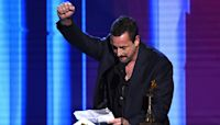 Adam Sandler Laughs Off All the 'Motherf—ers' at Sunday's Oscars in Epic Spirit Awards Speech