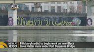 Local Artist Beginning Work On New Black Lives Matter Mural