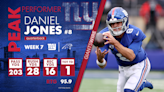Giants vs. Panthers Player of the Game: Daniel Jones