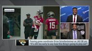 'Brian, stop it': McGinest reacts to Schottenheimer not naming Lawrence QB1