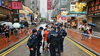 6.12兩周年 警方大舉封區 無阻市民紀念抗爭運動