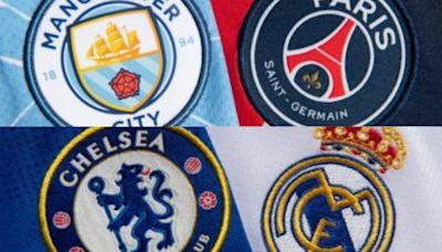 Champions League semis 1st look: Chelsea – Real Madrid; PSG – Man City