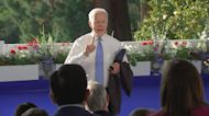 Biden apologizes for being 'short' with reporter
