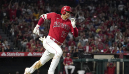 Ohtani hits consecutive triples, Angels rout Mariners 14-1