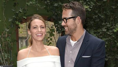 Blake Lively Shares Photo of Late Dad Ernie Embracing Ryan Reynolds on First Father's Day Without Him