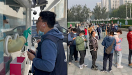 Beijing residents queue for tests as China battles new Covid outbreak