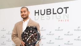 Mohammed Iman Fayaz Named Hublot Design PrizeWinner