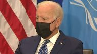 Biden addressing U.N. General Assembly amid strained relations with France