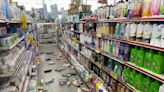 台東清晨地牛翻身 賣場員工上午開門驚見店內慘況 | 蘋果新聞網 | 蘋果日報