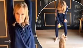 Amanda Holden gives in to joining TikTok with the help of her dog