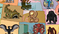 A Map of Famous Mythical Creatures in Every U.S. State
