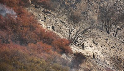 101 Freeway reopens as Alisal fire is restrained ahead of red flag conditions