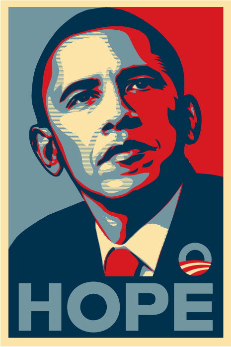"How the Obama ""Hope"" Poster Reached a Tipping Point and Became a ..."