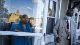 On a weekly peace walk in Roxbury, Boston's mayoral candidates are urged to talk more about street violence - The Boston Globe