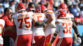 Chiefs' Patrick Mahomes leaves Titans game in fourth quarter after brutal sack