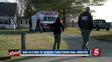 Wilson County man accused of sending letters threatening violence, bombings