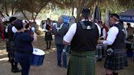 Fresno Highland Games held in Kearney Park