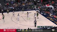 Brook Lopez with an and one vs the Utah Jazz