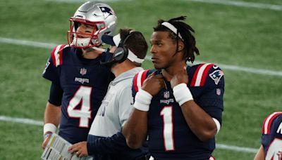 Cam Newton's cryptic reaction after Patriots draft Mac Jones