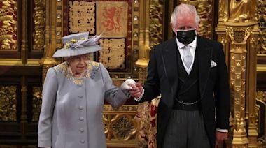 英女皇發表御座致辭 國會開幕大典120年來首次沒有君主配偶王座 | 蘋果日報
