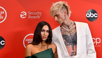 Machine Gun Kelly Gets Jarring New Slashed Neck Tattoo