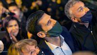 Djokovic celebrates rankings record with fans in Belgrade