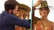 Jennifer Lopez & Ben Affleck Share Steamy Kiss While Boating On Her 52nd Birthday