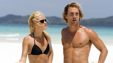 Matthew McConaughey responds to Kate Hudson's jab at their kissing scenes
