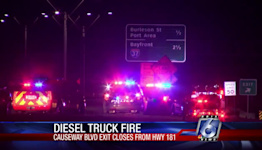 Highway 181 reopens after early morning fire