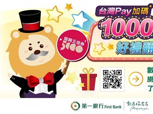5倍券綁一銀!台灣Pay回饋最高5100元 信用卡5倍變13倍 - 自由財經