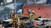 Plane crashes ino SoCal neighborhood