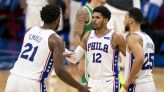 Current Sixers Big 3 tied for 5th best in the league based on 2K ratings