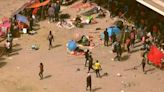 12,000 migrants have been waiting in makeshift camps under the Del Rio bridge in Texas