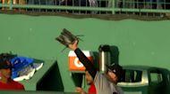 Judge robs Dalbec of a home run