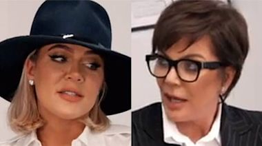 Watch Kris Jenner Go Full The Devil Wears Prada on Khloe Kardashian