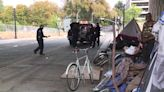 Homeless camp in downtown Sacramento cleared ahead of California Ironman Race