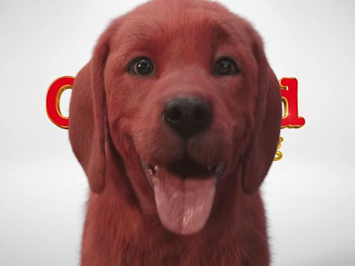 Clifford the Big Red Dog film teaser unnerves fans with a dog that's 'too realistic'