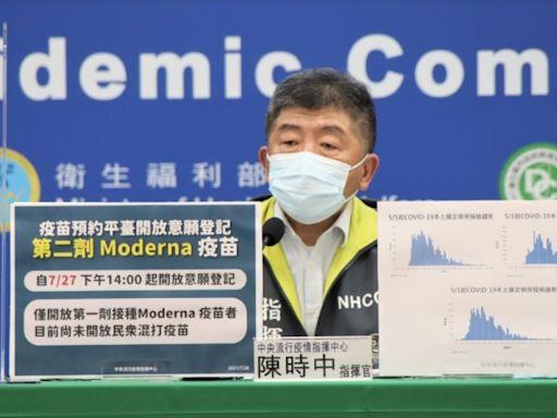 第2劑莫德納、AZ疫苗接種開始登記!陳時中:目前尚不開放混打